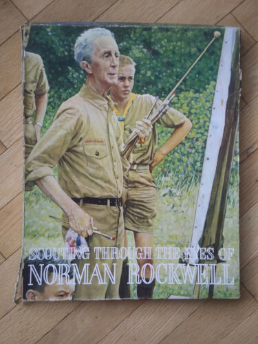 VTG Boy Scouts Of America Scouting Through The Eyes Of Norman Rockwell 34 Prints