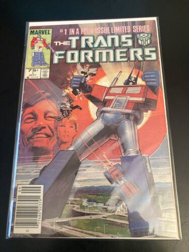 Marvel TRANSFORMERS #1 1984 (FN++) Newsstand! *Key Debut!* Very Bright & Glossy!