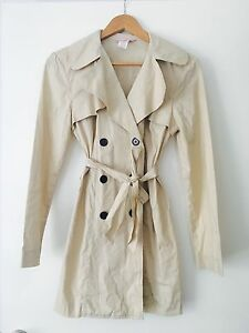 Beige mid season coat. Como South Perth Area Preview