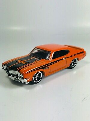Hot Wheels '70 Buick GSX Orange 1:64 Diecast Loose