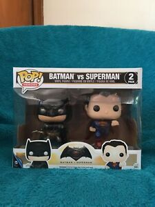 Pop! BATMAN v SUPERMAN. (2 pack). Batman v Superman. Caulfield East Glen Eira Area Preview