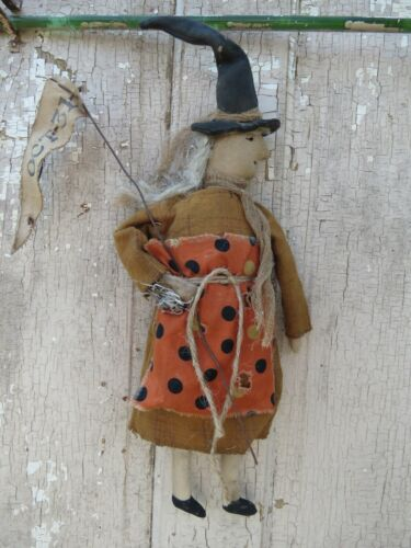primitive witch Party Doll