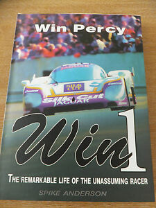 Signed copy of WIN 1 By Spike Anderson (Biography of WIN PERCY)