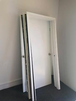 2 x split door frames and doors.