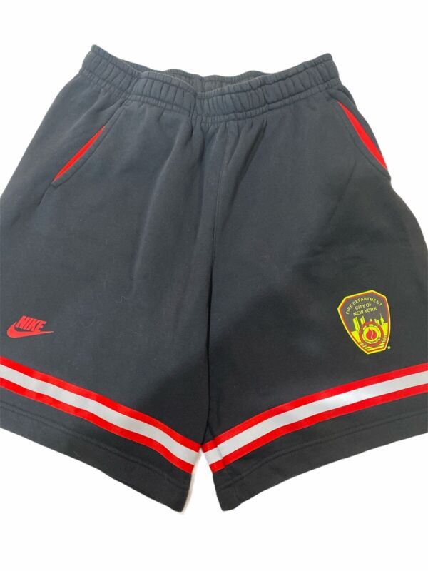 Preowned Nike FDNY New York City Fire Department Shorts Size XL