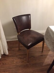 Roots Leather Chair $149