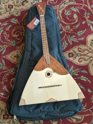 Balalaika BLLPDR Prima, Deluxe, Triangular Rosewood 27 inches Neck and Back