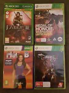 XBOX 360 GAME PACK : As New : 4 Games (Complete) Maryland Newcastle Area Preview