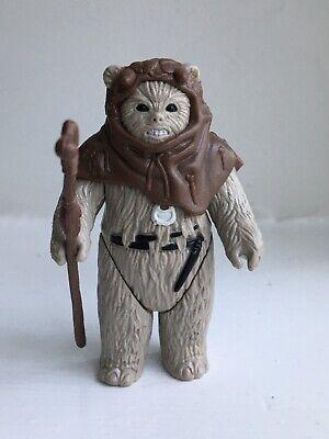 Vintage Star Wars Figure Chief Chirpa Ewok Complete Original