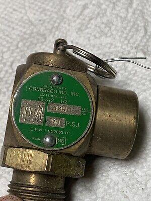 Cleveland Safety Relief Valve 12 M 12 F 10-512 50psi Pn Ke51082