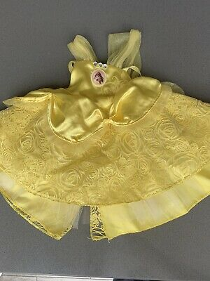 Disney Beauty & the Beast Belle Dress Build a Bear Toy Outfit