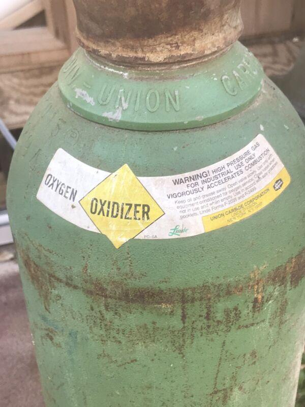 Oxygen Welding Tank