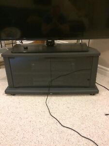 JVC T.V. Stand and JVC sound system stand