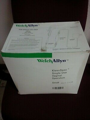 Welch Allyn Kleenspec 58000 Single Use Vaginal Speculum 25box Small Sheath
