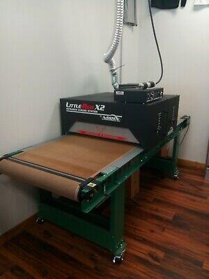 Vastex X2 Conveyor Dryer 30 Belt X 7 W Digital Controls For Screen Printing