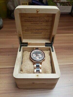 Holzkern Armbanduhr Damen