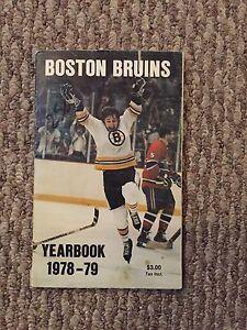 Boston Bruins Yearbook