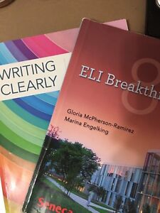 Package for ELI Breakthroughs for level 8+writing clearly