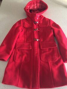 Manteau Benetton en laine pour fillette