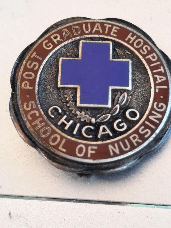 Vintage Post Graduate Hospital School Of Nursing Chicago Pin