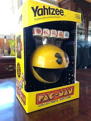 Yahtzee Pac Man Pacman Collector's Edition Dice Board Game 2013
