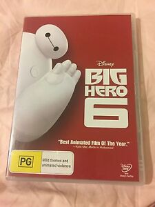 DVD: Big Hero 6 Pacific Pines Gold Coast City Preview