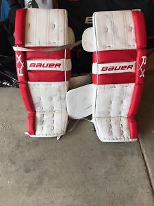 Bauer RX8 goalie pads