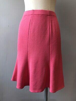 St John Knit Pink Tulip Skirt Size 2 Knit Tulip Skirt