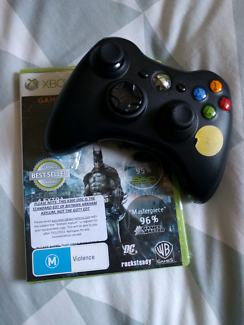 Batman Arkham Asylum + wireless controller