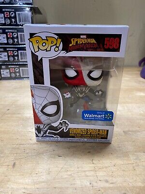 FUNKO POP MARVEL MAXIMUM VENOM #598 VENOMIZED SPIDER MAN  WALMART EXCLUSIVE
