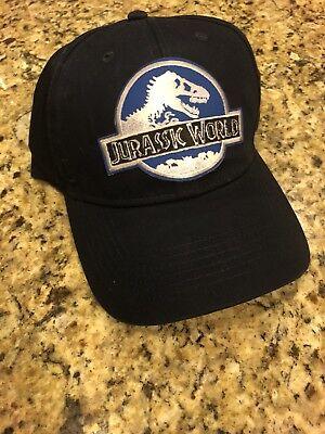 Jurassic World Park Navy Hat Embroidered Patch Cap INGEN Dinosaur Movie Ranger - Dinosaur Hat