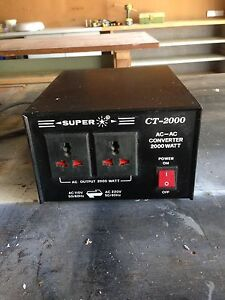 Converter - Super CT-2000 Bayview Pittwater Area Preview