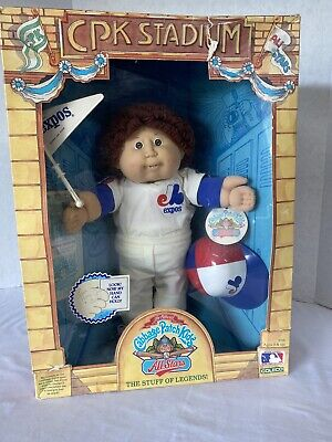 The Official Cabbage Patch Kids All Stars Sanford Webster Montreal Expos 1986