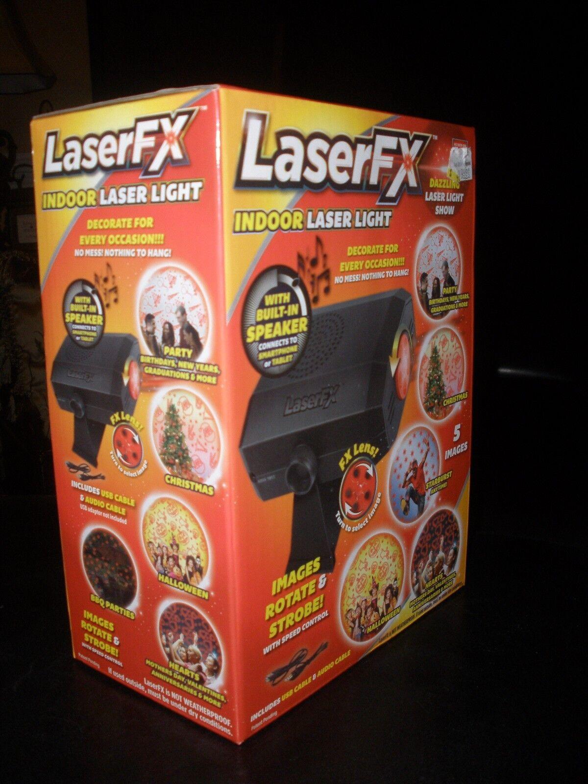 Christmas bluebanana  Laser FX Indoor Laser Light with Speaker-LP10006TD,NEW