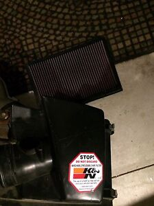 Mazda 3 k&n intake/engine cover/valve cover/air box