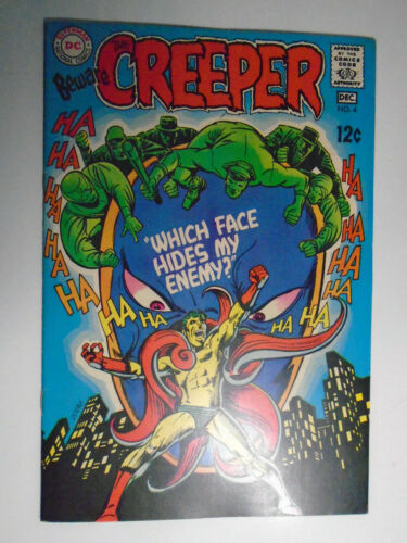 Beware the Creeper #4, Which Face Hides My Enemy, VF+, 8.5, OWW Pages