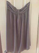 Zimmerman Size 0 strapless grey dress Bertram Kwinana Area Preview
