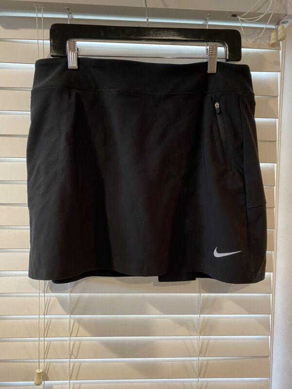 Nike Golf Tour Performance Dri Fit Skirt Skirt Black Large