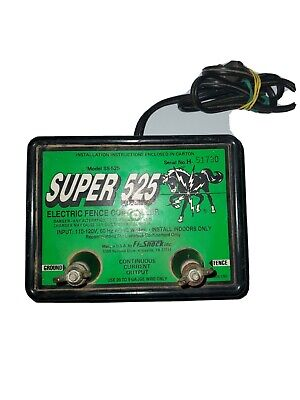 Fi-shock Super 525 Electric Fence Controller Ss-525