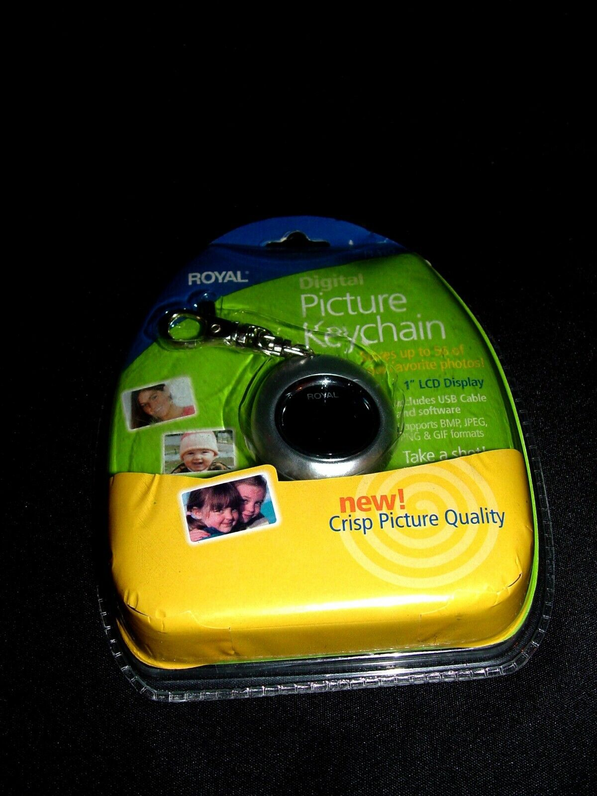 ROYAL - DIGITAL PHOTO KEYCHAIN - NEW - $8.50