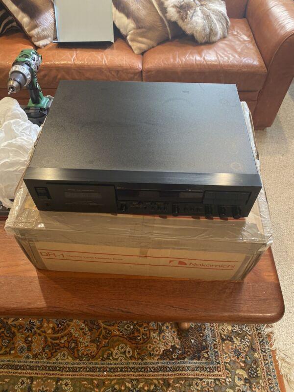 Nakamichi DR-1 Cassette Deck VG-EX w/ Original Box