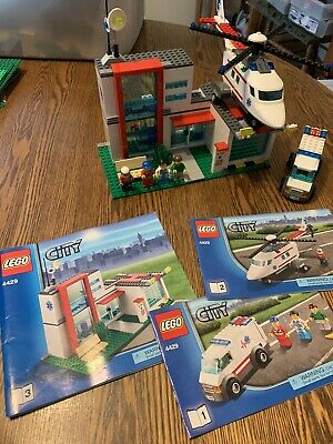 LEGO City 4429 Hospital And Helicopter Rescue With Instructions And Minifigures