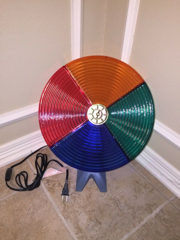 BRAND NEW Rotating Color Wheel! Works Great! For Silver Aluminum Christmas Trees