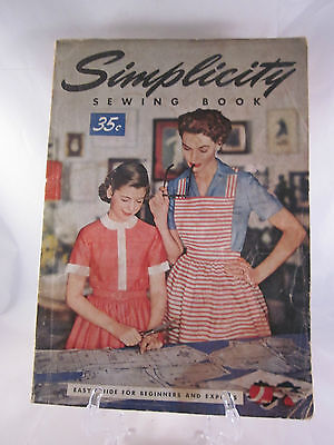 Vintage Simplicity Sewing  Book 1954 Instructions