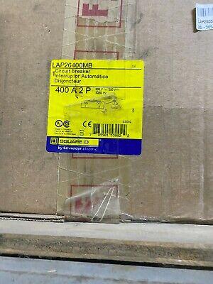 Square D Lap26400mb 2 Pole 400 Amp 600v Circuit Breaker