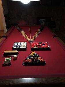 Pool Table with TML balls