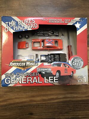 Dukes of Hazzard General LEE 69 Dodge Charger American Muscle Model. BRAND NEW!!