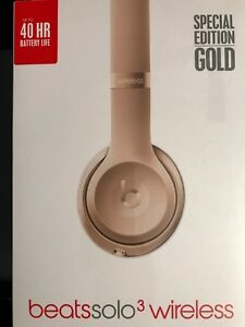 Special edition gold beats solo3