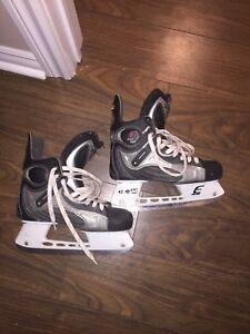 CCM E50 skates. Size 8