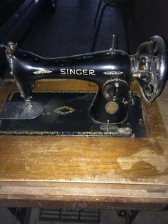 Singer peddle sewing machine